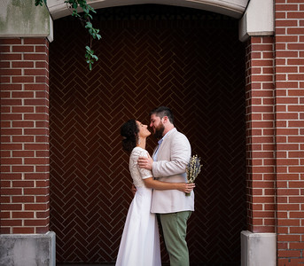 Wedding photography at Creative Loafing Space in Ybor City.