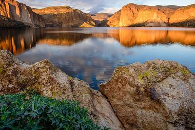 Golden Hour at Canyon Lake