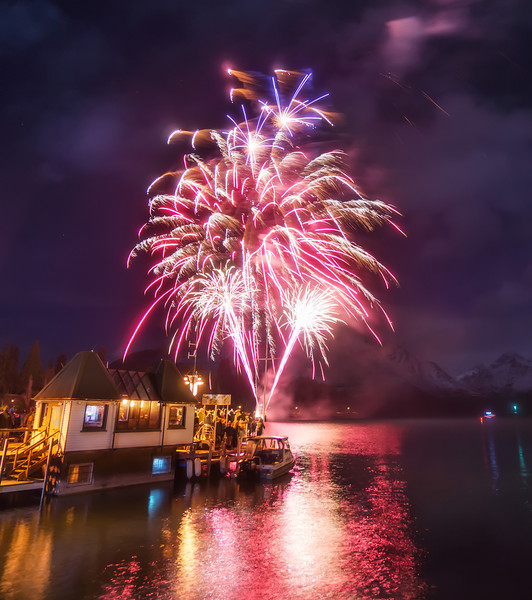 Another Photo during Winterfest Every year around this time Queenstown has a long event called Winterfest. Every day they have different events… on the opening night, there is a big concert and then some fireworks. Here's a quick shot I got while I was watching it with the family.- Trey RatcliffClick here to read the rest of this post at the Stuck in Customs blog.