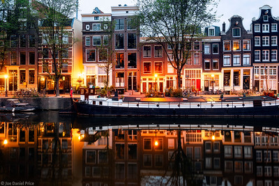 Canal Reflection, Amsterdam, Holland