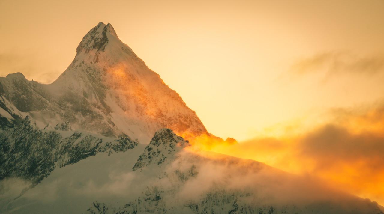 Ascending Mount Aspiring