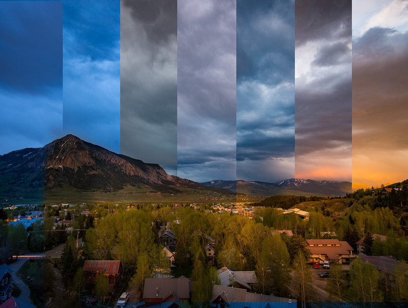 A time slice if Crested Butte.