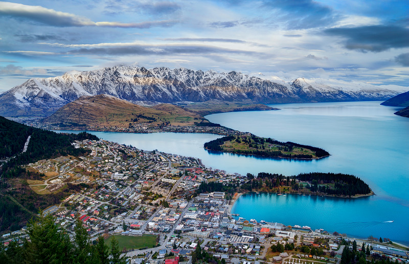 A Great View of Queenstown