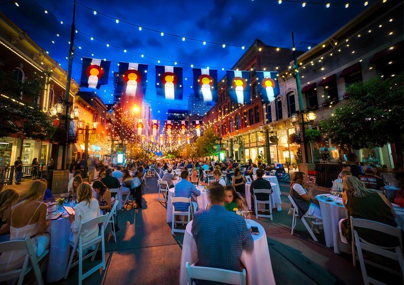 Dining Al Fresco In Denver