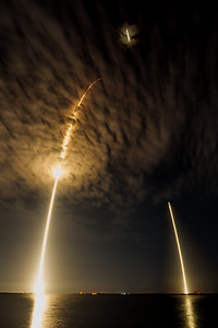 CRS-9 Launch and Landing