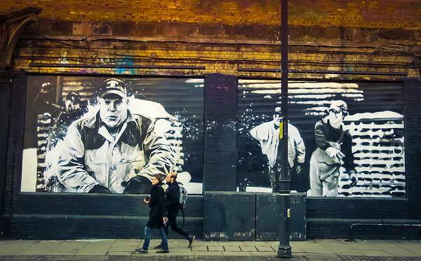 Shoreditch Wall - London