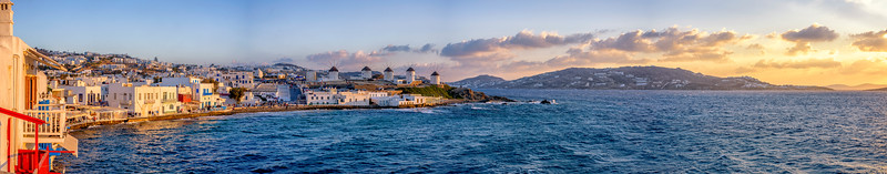 Mykonos Town Sunset