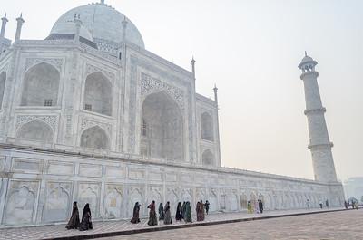 Visiting the Taj Mahal, Agra