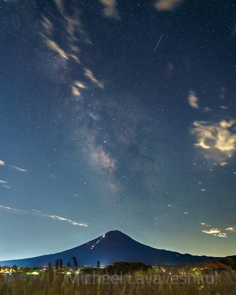 Mt. Fuji and the Milky Way #2