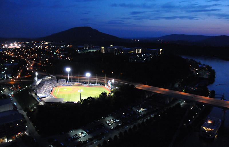 Chattanooga Lookouts Night Baseball Game