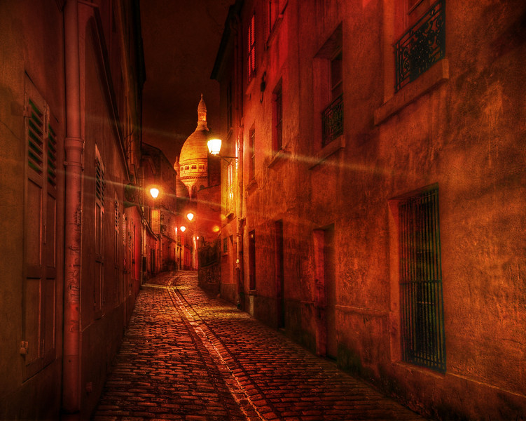 "<h2>Meandering in the French Streets After Dark</h2> <br/>I don't sleep much, even when I am home.  I get a good 5-6 hours of sleep a night; but when I travel, I'm so charged up I get less.  These foreign city streets seem to have a romantic sense about them, so that impedes even more on my sleep since there are so many great places to shoot.<br/><br/>This perfect little European medieval street was in Lyon, if I am not mistaken.  Sometimes I forget here in my old age.  There's a 10% chance it is in Paris. There's a long path from click to final image and my memory fades betwixt.<br/><br/>- Trey Ratcliff<br/><br/><a href=""http://www.stuckincustoms.com/2009/09/14/meandering-in-the-french-streets-after-dark/"" rel=""nofollow"">Click here to read the rest of this post at the Stuck in Customs blog.</a>"