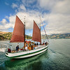 "<h2>Sailing Away to Akaroa</h2> Thanks again for all the recommendations!  So many of you recommended that we visit Akaroa on our visit to New Zealand, and it was a great suggestion.<br><br>You can walk along and see most of the commercial part and the harbor in less than an hour.  One end is a long dock where they launch a few ships per day.  Just as I got out to the end, this sailboat was pulling away from the dock.<br><br>This photo came from a single RAW file.  There was way too much movement to let me do a multiple exposure in this one.<br><br>- Trey Ratcliff<br><br><a href=""http://www.stuckincustoms.com/2012/02/16/sailing-away-to-akaroa/"" rel=""nofollow"">Click here to read the rest of this post, including info on the podcast, at the Stuck in Customs blog.</a>"