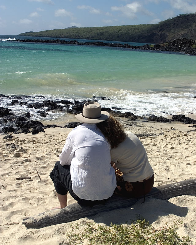Time out to reflect on all the amazing creatures and beauty in the Galapagos