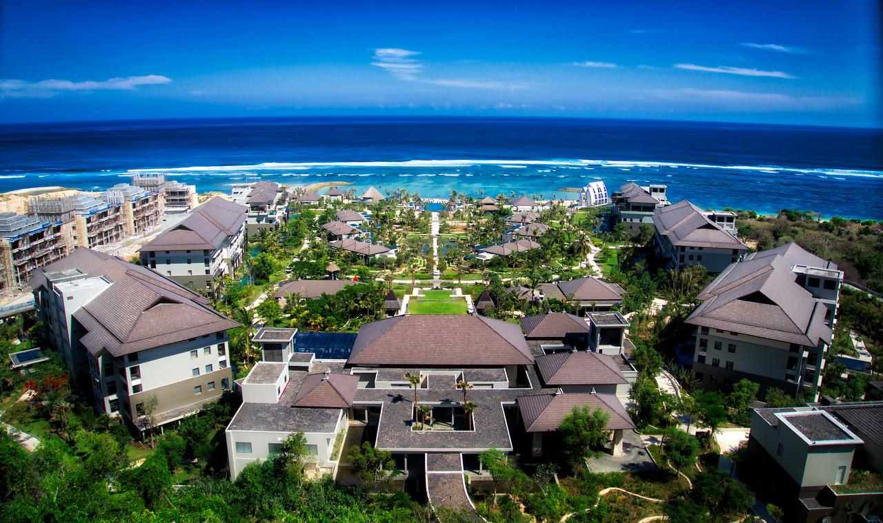 High Above Amazing Bali