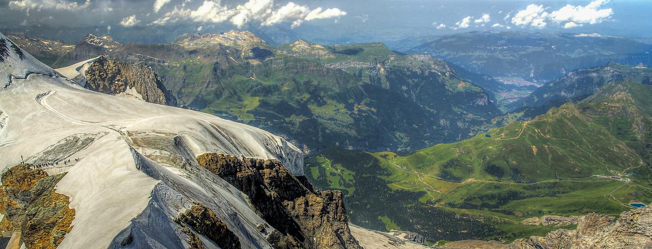 Jungfraujoch Valleys