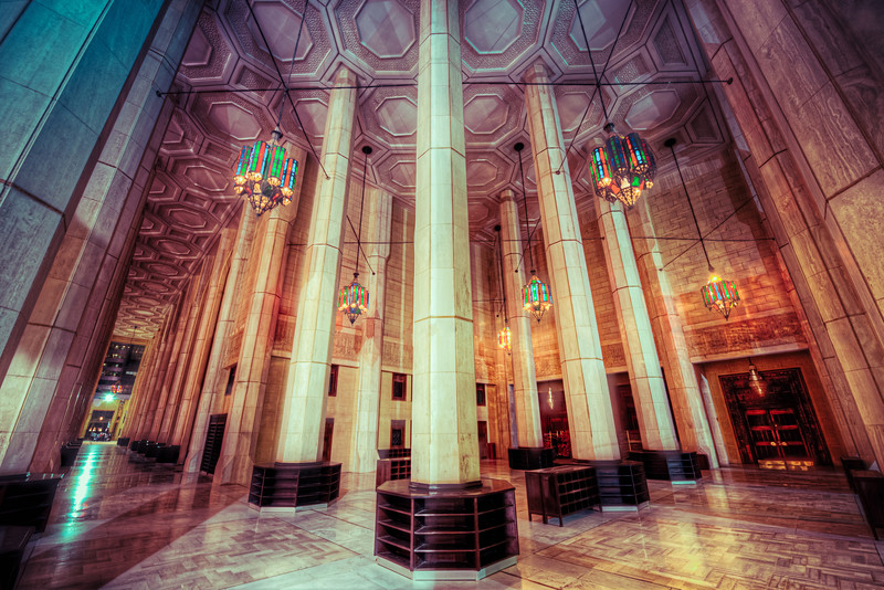 Grand Mosque Hall Way