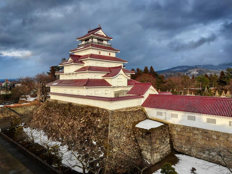 Tsuruga-jō Castle in Aizuwakamatsu-shi, Fukushima
