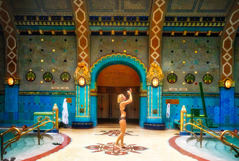 Olya In The Turkish Bathhouse