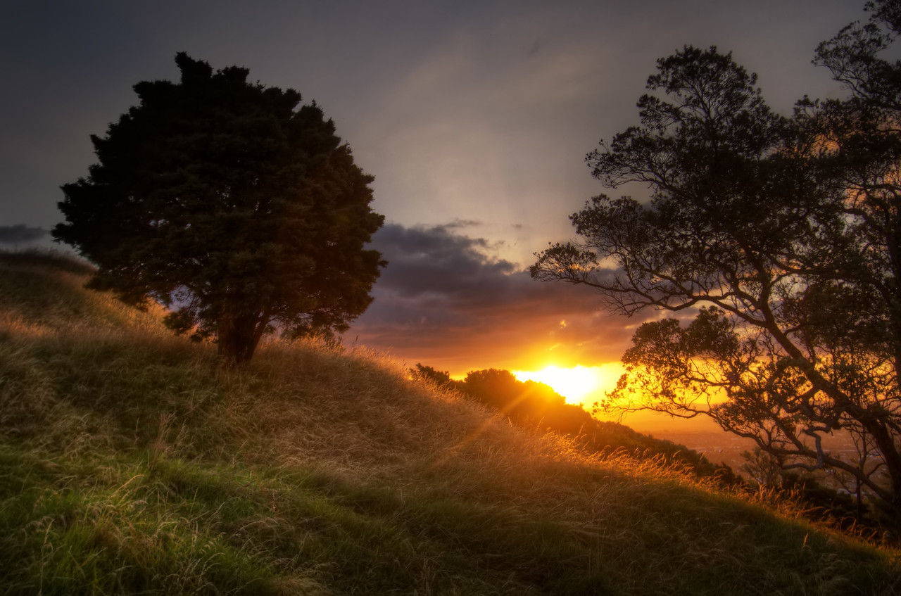 Mount Eden Sunset