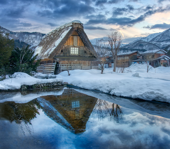 Farmhouse in Shirakawa-go