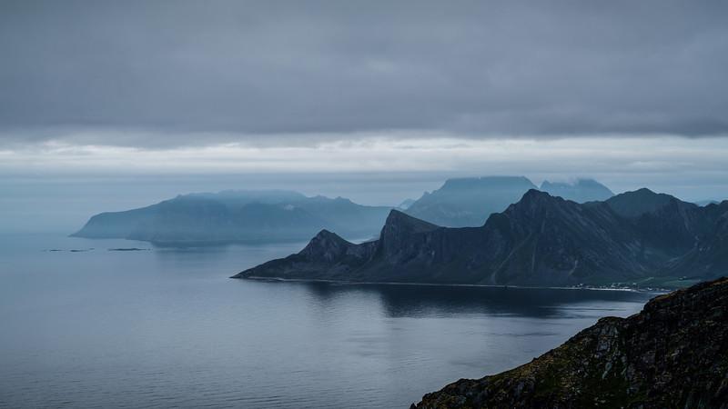 Kvalvika Mountains