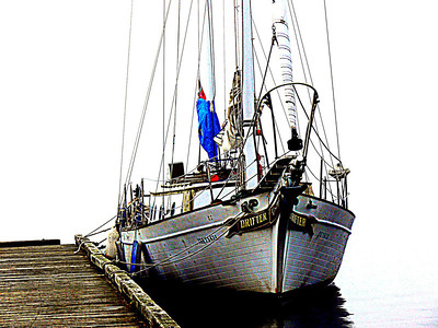 Drifter docked at Neah Bay