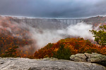 Foggy Day in the New River Gorge