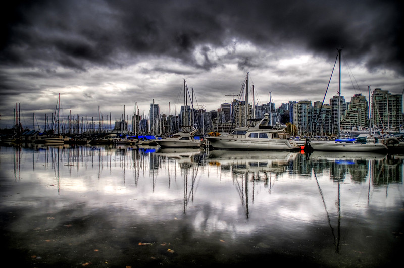 """<h2>The Rainy Season of Vancouver</h2> <br/>Vancouver was experiencing a major storm system.  It made it rather tough to take pictures, but I did get a few in that I will post in coming weeks.  This shot is across the harbor, looking back at downtown Vancouver.<br/><br/>- Trey Ratcliff<br/><br/><a href=""""http://www.stuckincustoms.com/2006/11/07/most-rain-ever/"""" rel=""""nofollow"""">Click here to read the rest of this post at the Stuck in Customs blog.</a>"""