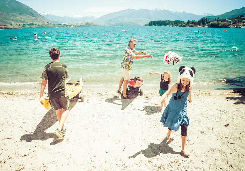 A Fun Family Day at Lake Wanaka
