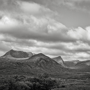 Sunlight on Ben More Coigach