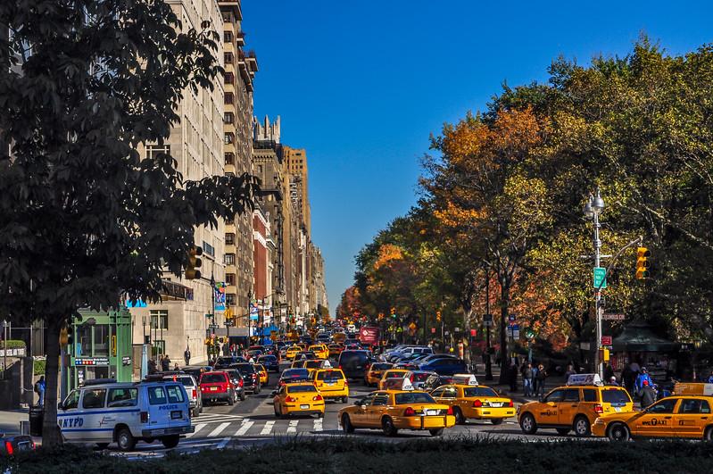 Central Park West Traffic