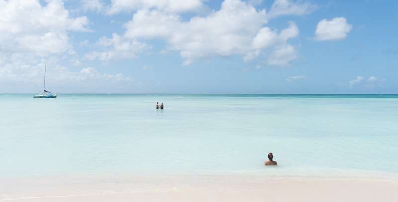 Milky Waters Of Aruba