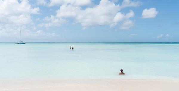Milky Waters Of Aruba