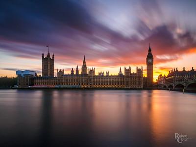 Westminster Rainbow Sunset