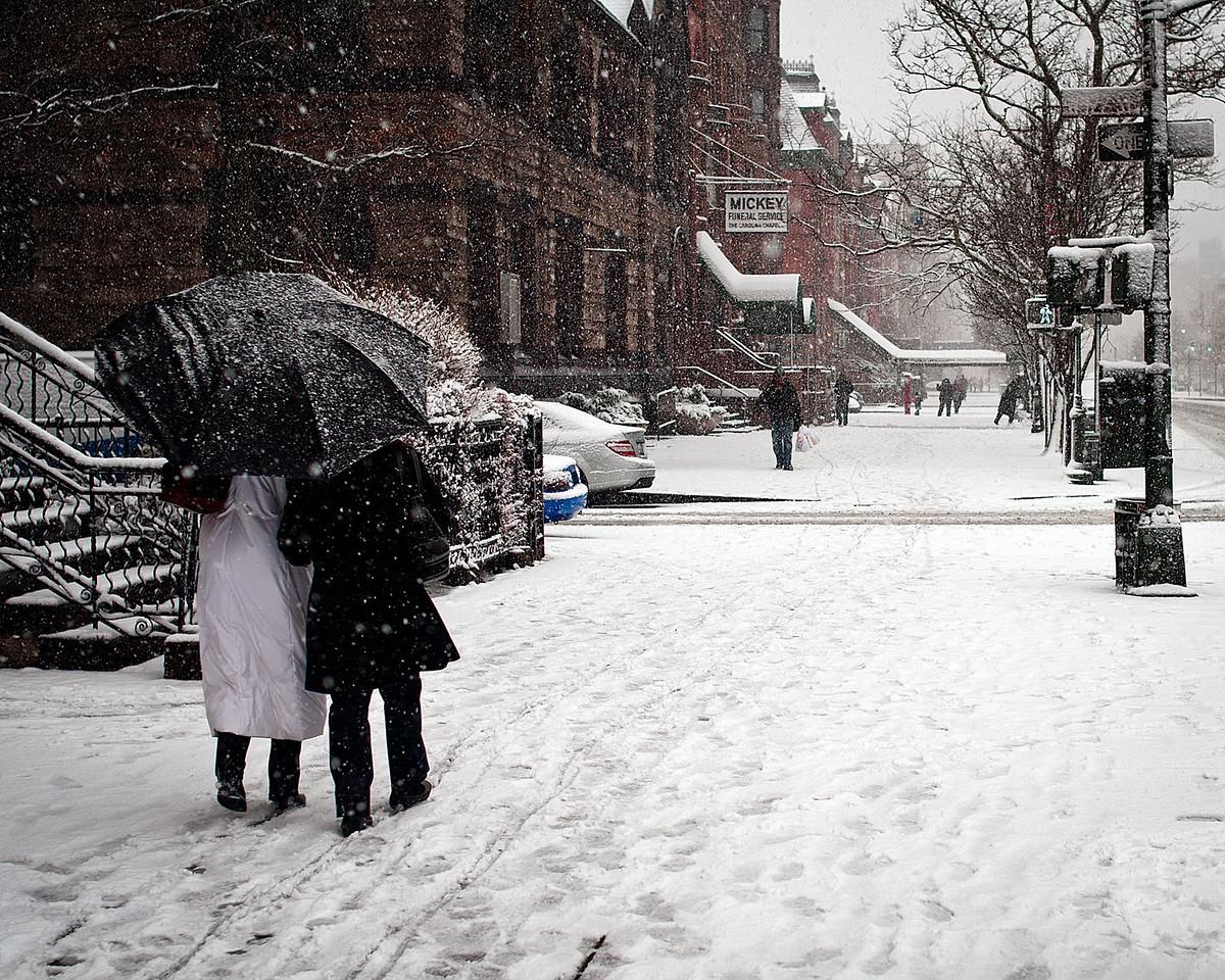 Snow in Harlem