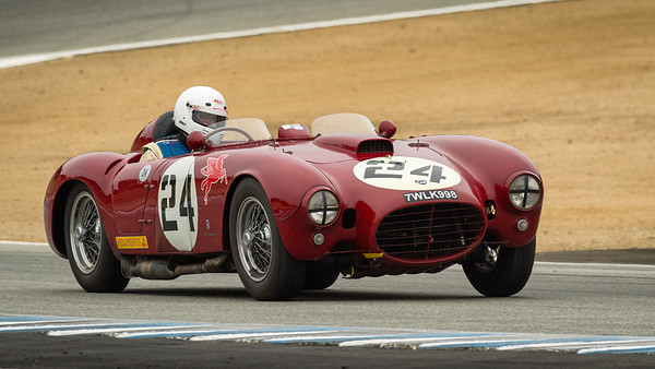 Bruce Trenery driving the 1953 Lancia D24/5