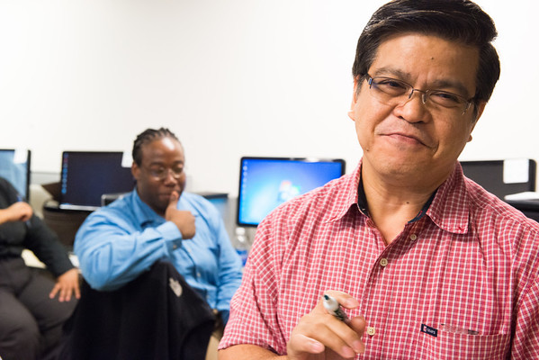 Emmanuel Del Castro, IT Instructor at Per Scholas, South Bronx