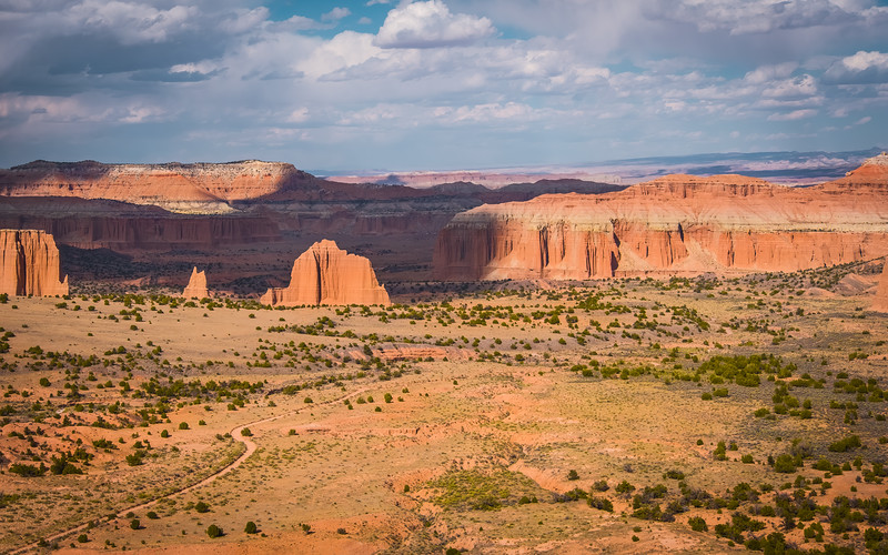 Travel_Photography_Blog_Utah_Capitol_Reef_National_Park_Cathedral_Valley_Arial