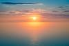 Sunset Over Bay of Fundy (New Brunswick)