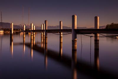 Pontoon reflections