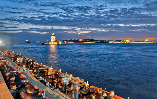 Dinner With A View Of The Maiden's Tower