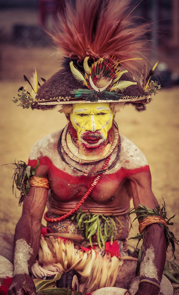 Papua New Guinea Face Paint