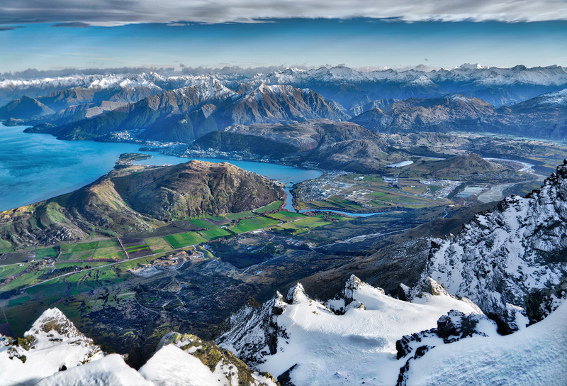 Climbing The Remarkables