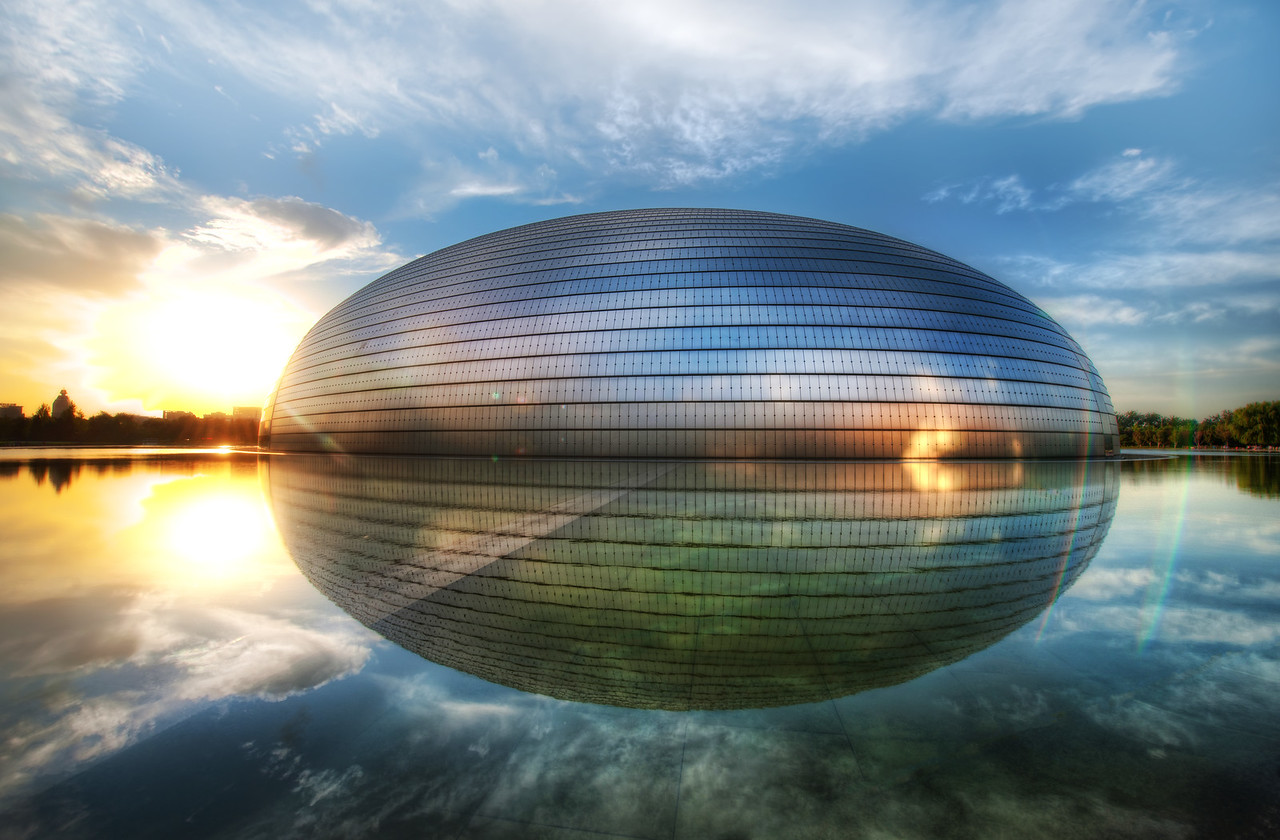 The PhotoWalk Egg in China We had a great PhotoWalk in China! It was really so amazing... it was nice to meet so many people while having a great sunset on The Egg. I've been to this place many times, so I felt lucky to have good weather. Upcoming, I have a behind-the-scenes video of how this photo was made as well. I'll try to get that up in the near future, but please feel free to remind me... I get overloaded sometimes!  - Trey Ratcliff  Read more here at the Stuck in Customs blog.