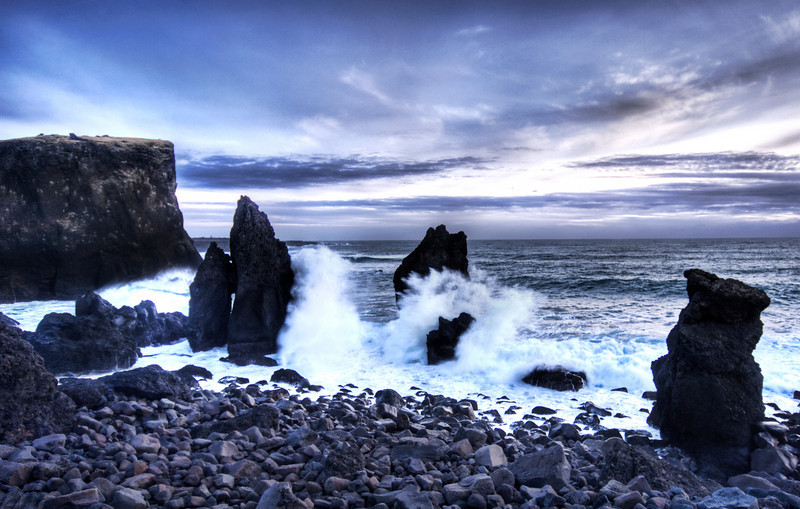 """<h2>Cleaving the Earth</h2> <br/>The southern edge of Iceland is some of the roughest and most beautiful ocean surf I have ever seen. Standing on igneous rock, wind ripping around me, and the surf crashing in every direction was incredibly intimidating and awe-inspiring at the same time. I think this may very well be the coolest place I have ever been.<br/><br/>- Trey Ratcliff<br/><br/><a href=""""http://www.stuckincustoms.com/2007/02/15/cleaving-the-earth/"""" rel=""""nofollow"""">Click here to read the rest of this post at the Stuck in Customs blog.</a>"""
