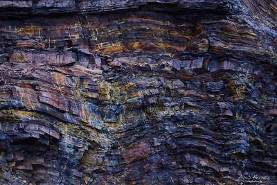Coloured rocks