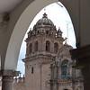 Church Through an Arch - Cusco Peru