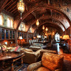 "<h2>The Gothic Study</h2> <br/>Note this is the ""small"" library.  I'll post the main library in a few weeks! <br/><br/>As always, you can zoom in to see the details by clicking through.  The details are quite incredible, and I am sure you will delight in seeing the closeups of the hand-carved wooden arches and the painted Spanish ceilings...  it was all amazing!  If you look closely at the full res version towards the middle, you can see a portrait of WR Hearst when he was 31-years-old.<br/><br/>- Trey Ratcliff<br/><br/><a href=""http://www.stuckincustoms.com/2010/02/03/the-gothic-study-the-private-library-of-william-randolph-hearst/"" rel=""nofollow"">Click here to read the rest of this post at the Stuck in Customs blog.</a>"