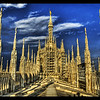 "<h2>The Duomo</h2> <br/>This is one of the largest and most famous buildings in Europe. The inside of the Duomo is so vast that it can hold 40,000 people, which is more than most football stadiums.<br/><br/>- Trey Ratcliff<br/><br/><a href=""http://www.stuckincustoms.com/2006/07/09/the-duomo/"" rel=""nofollow"">Click here to read the rest of this post at the Stuck in Customs blog.</a>"