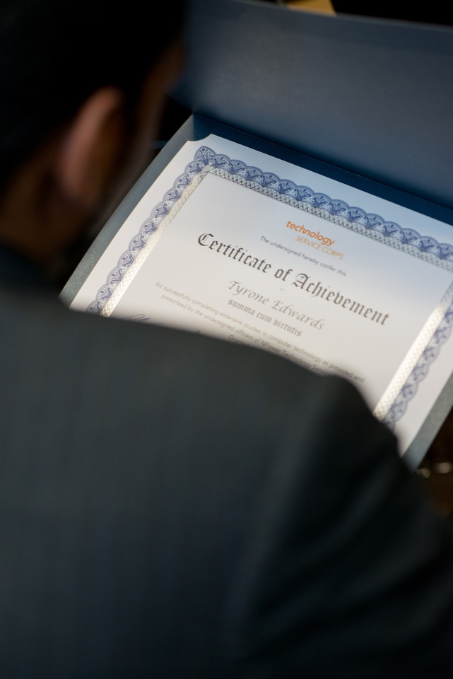 NPower Technology Service Corps graduation